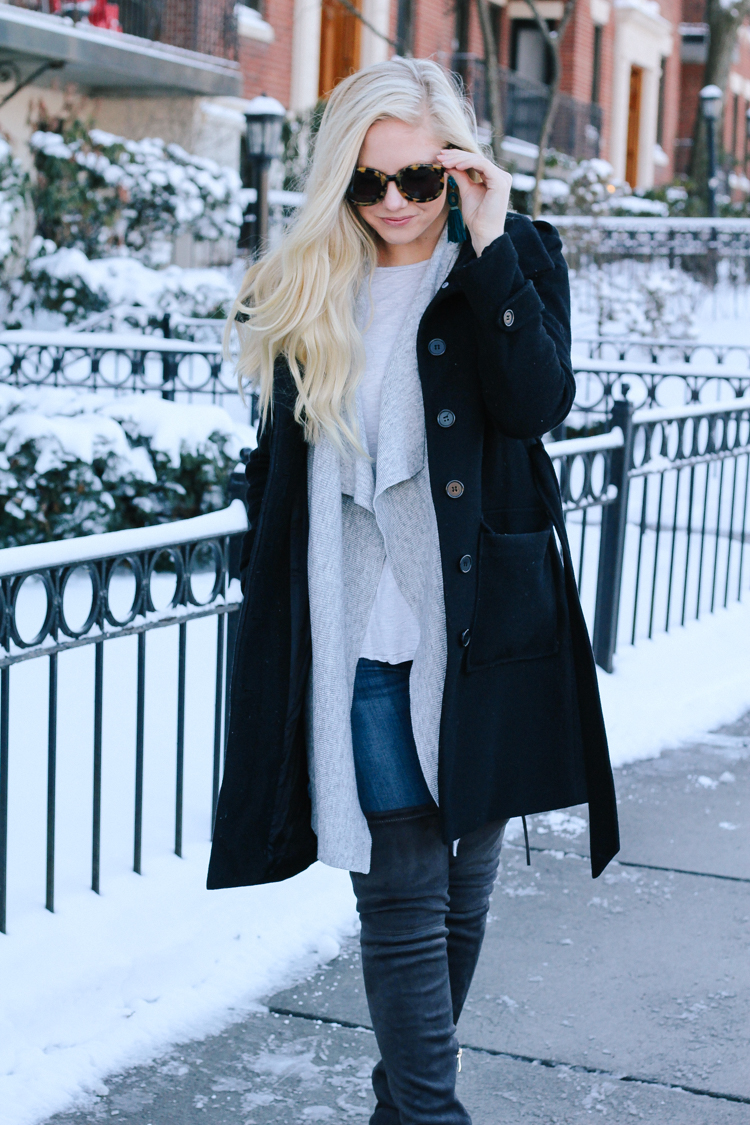 Amp up your winter style with over the knee boots!