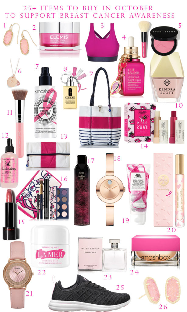 what to buy to support breast cancer, items to purchase to support breast cancer awareness, breast cancer awareness month, october breast cancer awareness, BCA, what to buy to support BCA, October BCA,